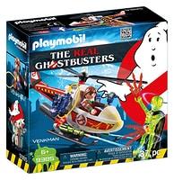 Playmobil Venkman con elicottero