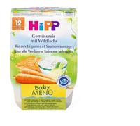 Bio HiPP Riso verdure e salmone