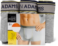 John Adams Herren-Short im 3er-Pack