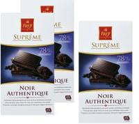 Plaques de chocolat Frey Suprême en emballages multiples, UTZ