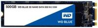 Western Digital Blue 3D NAND SSD M.2  2280 500GB SSD intern