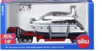Trasporto eccezionale con yacht 1:87