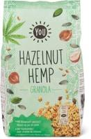 Bio YOU hazelnut-Hemp granola