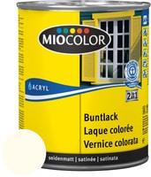 Miocolor Acryl Buntlack seidenmatt Hellelfenbein 125 ml