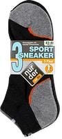 Chaussettes basses de sport pour homme, en lot de 3 paires