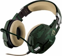 Trust-Gaming GXT 322C Gaming Headset vert camouflage