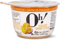 Oh! Yogurt Greek Pfirsich-Maracuja