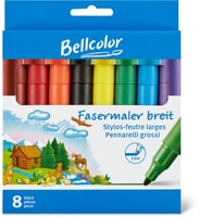 Bellcolor Fasermaler breit
