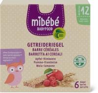 Mibébé Getr. Riegel Apfel-Himbeere