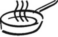 Zubereitung: In der Pfanne braten / Braten