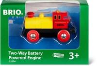 BRIO Locomotive à pile jaune (FSC)