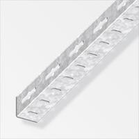 alfer Angolare isoscele 23.5 x 23.5 mm forato acciaio zinc 2 m