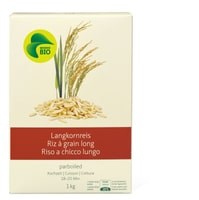 Bio Riz Grain long parboiled