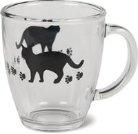 Verre à thé avec motif de chats Cucina & Tavola