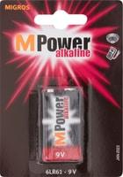 M-Power 6LR61 / 9V (1Stk.) Batterie