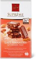 Suprême Lait Amandes&Caramel Salé