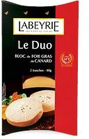 Duo de foie gras de canard Labeyrie