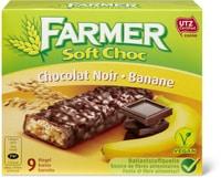Farmer Soft choc Chocolat noir/banane