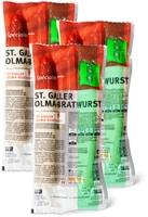 St. Galler Olma-Bratwurst im 3er-Pack