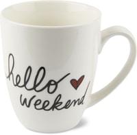 Cucina & Tavola Tasse Hello Weekend, 390ml