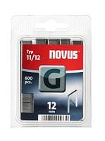 NOVUS Flachdrahtklammern G Typ 11/12