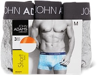 Boxer aderenti o slip da uomo John Adams in conf. da 3