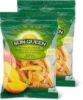 Sun Queen-Mangoschnitze, -Datteln oder -Mandeln im Duo-Pack