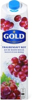 Gold Traubensaft rot