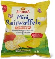 Alnatura - Mini gallette di riso con mela e mango