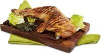 Cosce di pollo speziate cotte al grill