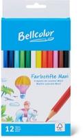 Bellcolor Bellcolor FSC® crayons couleur maxi