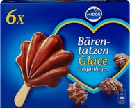 Glaces coquillages
