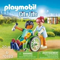 Playmobil 70193 City Fauteil Roulant