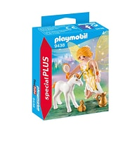 Playmobil Fée et bébé licorne