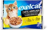 Exelcat Zarte Häppchen Geflügel
