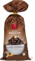 Frey-Coaties in Sonderpackungen sowie -Schokoladenriegel im 18er-Pack, UTZ