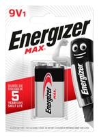 Energizer MAX 9V/6LR61 1p.