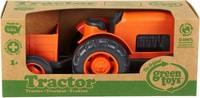 Green Toy Tracteur Orange
