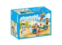 Playmobil Fahrrad mit Eiswagen
