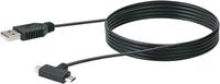 Schwaiger Kabel USB 2.0 1m schwarz, USB 2.0 TypA / Micro-USB / Mini-USB