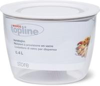 M-Topline STORE Contenitori di vetro per dispensa 0.4L