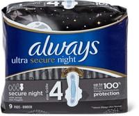 Always Ultra Binde Secure Night und dicke Binde Maxi Normal