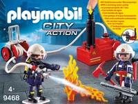 Playmobil 9468 Pompiers pompe à eau