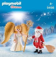 PLAYMOBIL Duo Père Noël et Ange