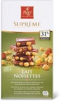 Suprême Lait/noisettes