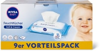 Nivea Baby-Feuchttücher im 9er-Pack