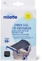Milette Auvent de protection solaire pour poussette bébé