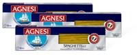 Pâtes alimentaires Agnesi en emballages multiples