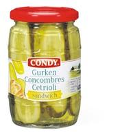 Condy Concombres-Sandwich