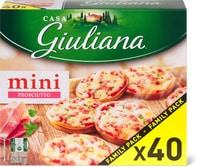 Mini pizze Casa Giuliana in confezione speciale